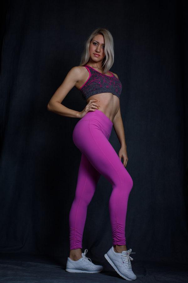 Леггинсы Supplex неоновый фиолетовый