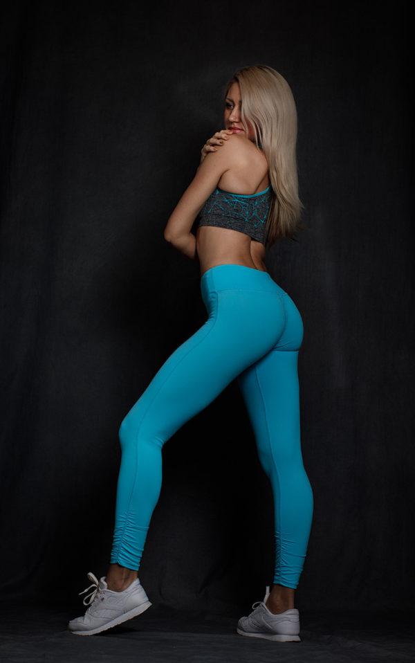 Леггинсы Supplex голубая лагуна