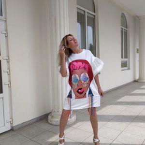 платья поп-арт