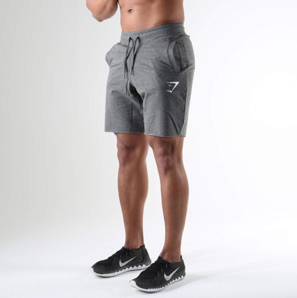 шорты серые спортивные