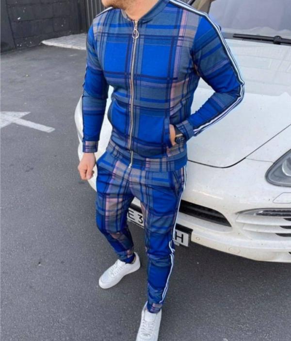 Спортивный костюм джентельмены синий